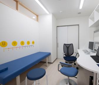 ならばやしこどものアレルギークリニック 小児科診察室